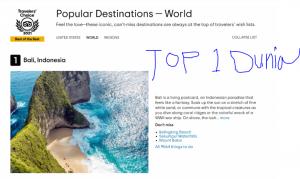 klingking beach nusa penida top dunia